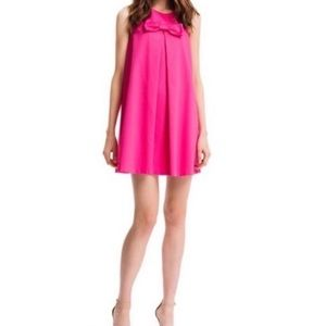 Cece by Cynthia Steffe Bright Pink Bow Shift Dress